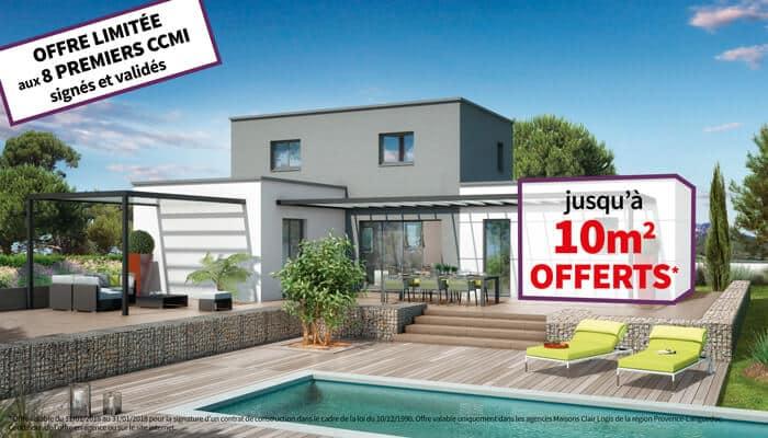 Offre spéciale : jusqu'à 10m2 OFFERTS* pour votre maison