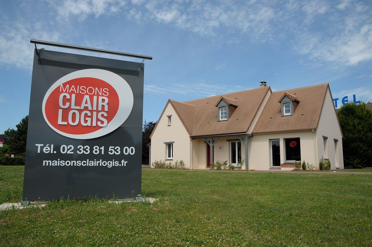 Agence maisons clair logis alen on 61 orne for Constructeur maison individuelle 72