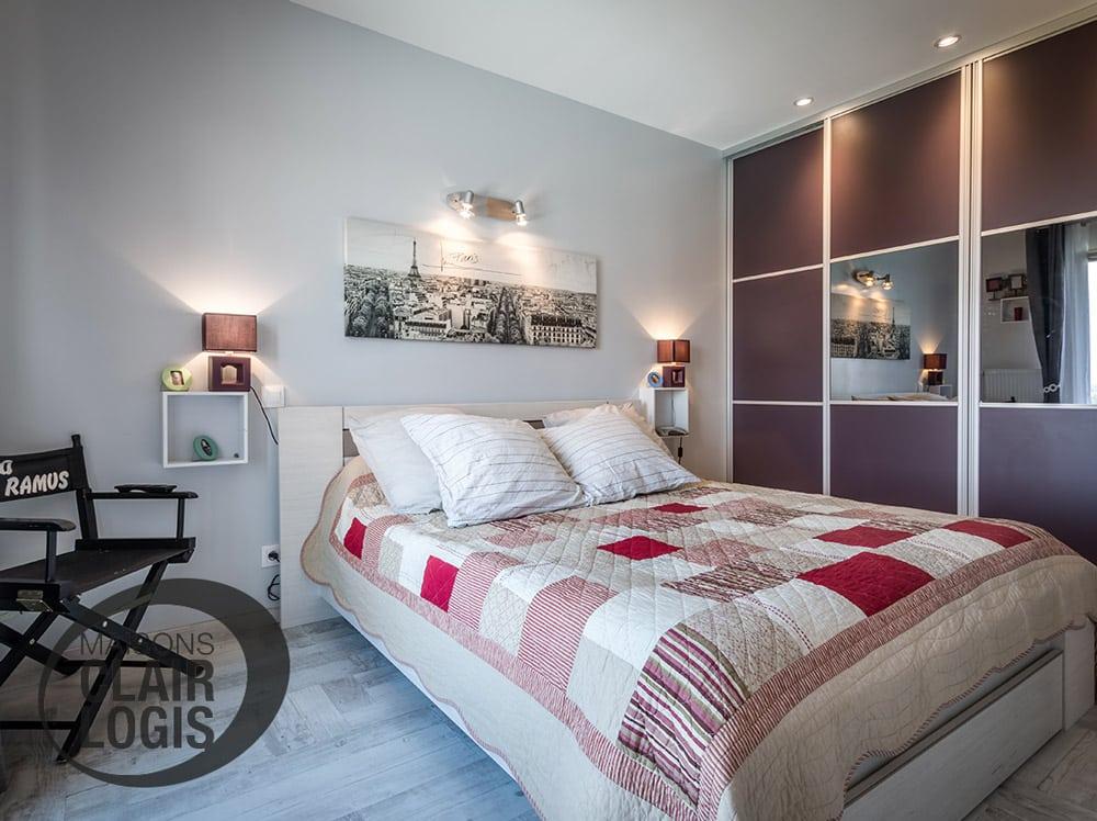 Nos maisons neuves maisons clair logis - Placard integre chambre ...