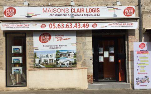 Constructeur maison 82 - agence Maisons Clair Logis Caussade