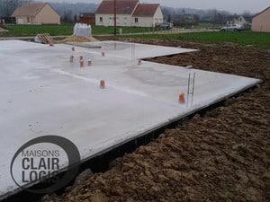 Construction d'une maison - phase plancher