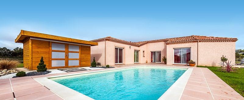 Maison neuve en vid o maisons clair logis for Maison individuelle neuve