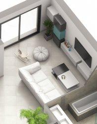 Maison d'architecte Quartz - salon lumineux