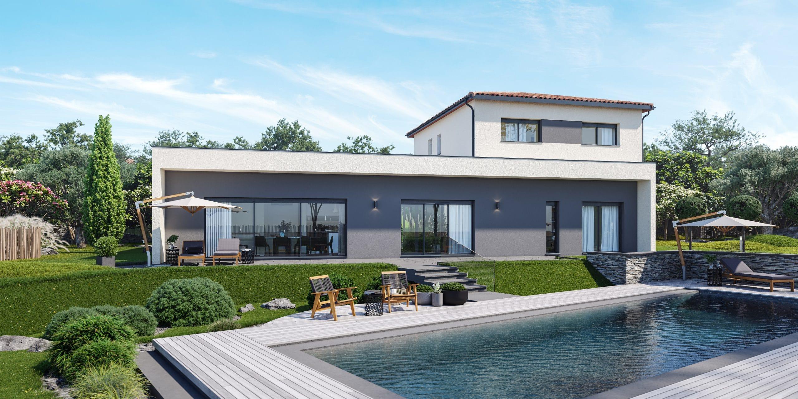 Plan De Maison Plain Pied Gratuit Faire Construire Sa Maison 13