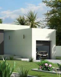 maison contemporaine Jade - garage toi plat