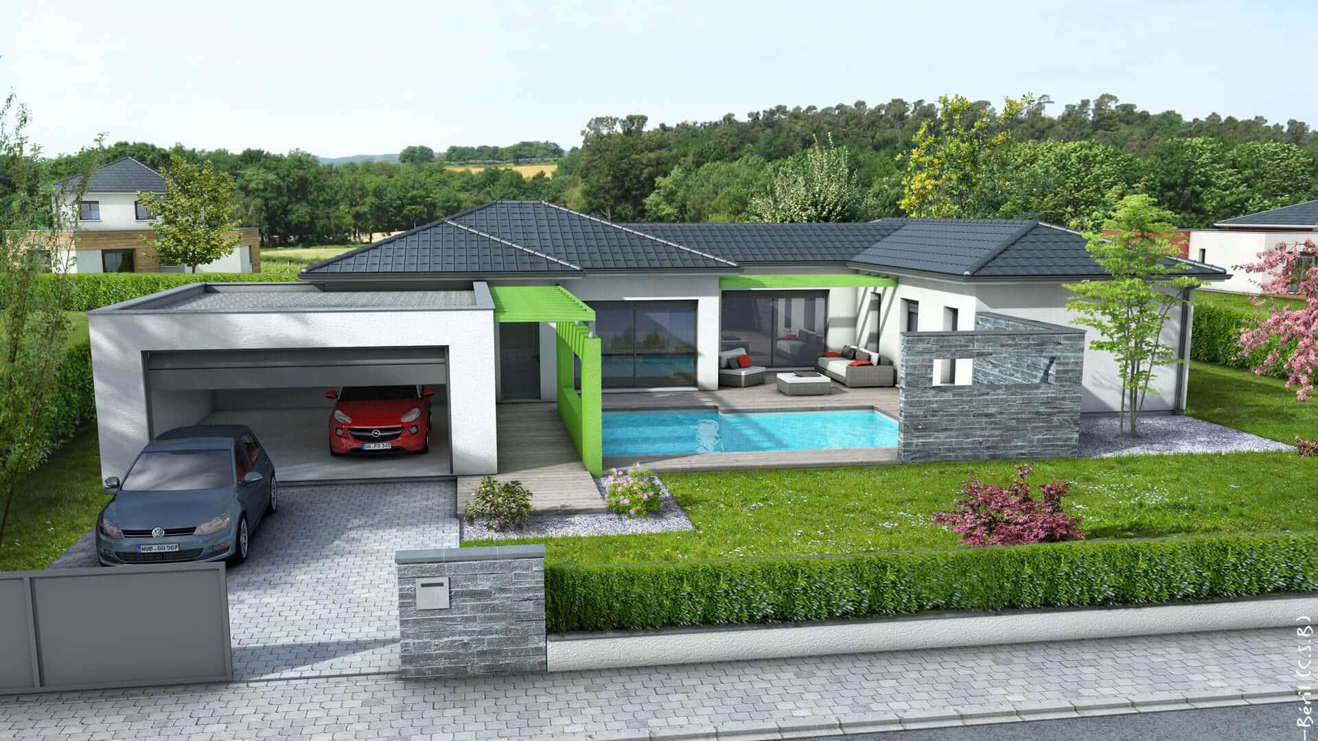 Plan De Maison 140 M2 Gratuit