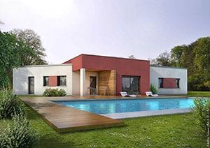 Maison individuelle jouez avec les textures et les couleurs - Maison clair logis avis ...