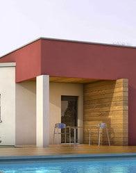 plan de maison contemporaine alexandrite. Black Bedroom Furniture Sets. Home Design Ideas