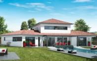 Plan maison contemporaine Ambre