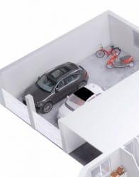 Plan maison 3D - maison contemporaine Ambre