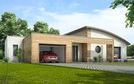 Plan maison contemporaine ambre plan maison 3d for Container maison 974