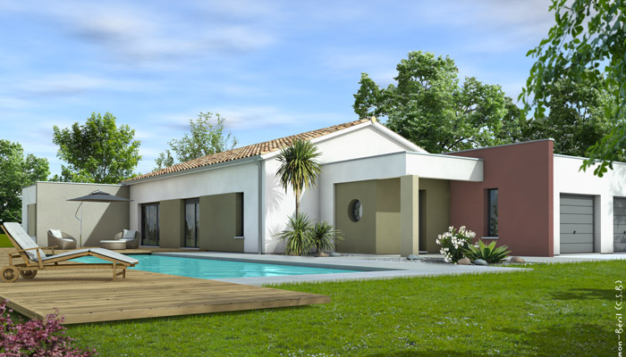 Maison contemporaine ang lique plan maison maisons clair logis - Maison clair logis avis ...