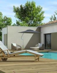 Maison toit plat - maison contemporaine