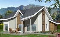 Plan de maison contemporaine Arcalod