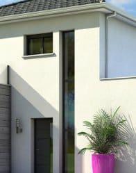 Menuiseries modernes pour maison contemporaine