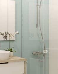 salle d'eau moderne - maison contemporaine