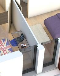 plan maison toit plat opaline maison contemporaine. Black Bedroom Furniture Sets. Home Design Ideas