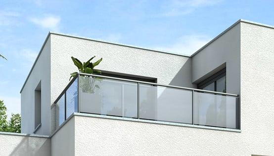 Plan maison toit plat opaline maison contemporaine - Plan maison toit terrasse ...