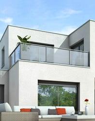 Plan maison toit plat opaline maison contemporaine for Construire toit terrasse