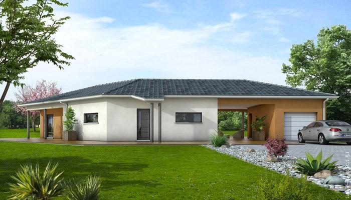 maison contemporaine tanzanite maisons clair logis. Black Bedroom Furniture Sets. Home Design Ideas