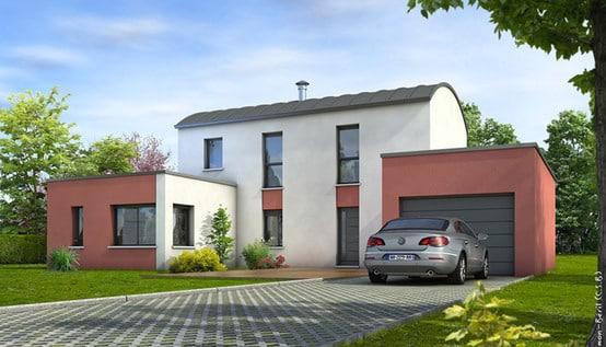 Plan Maison Contemporaine Tourmaline Maison Modulaire