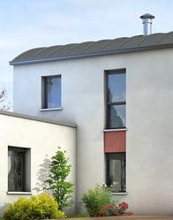 Toiture arrondie - maison contemporaine Tourmaline