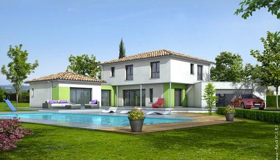 plan maison contemporaine turquoise plan maison gratuit. Black Bedroom Furniture Sets. Home Design Ideas