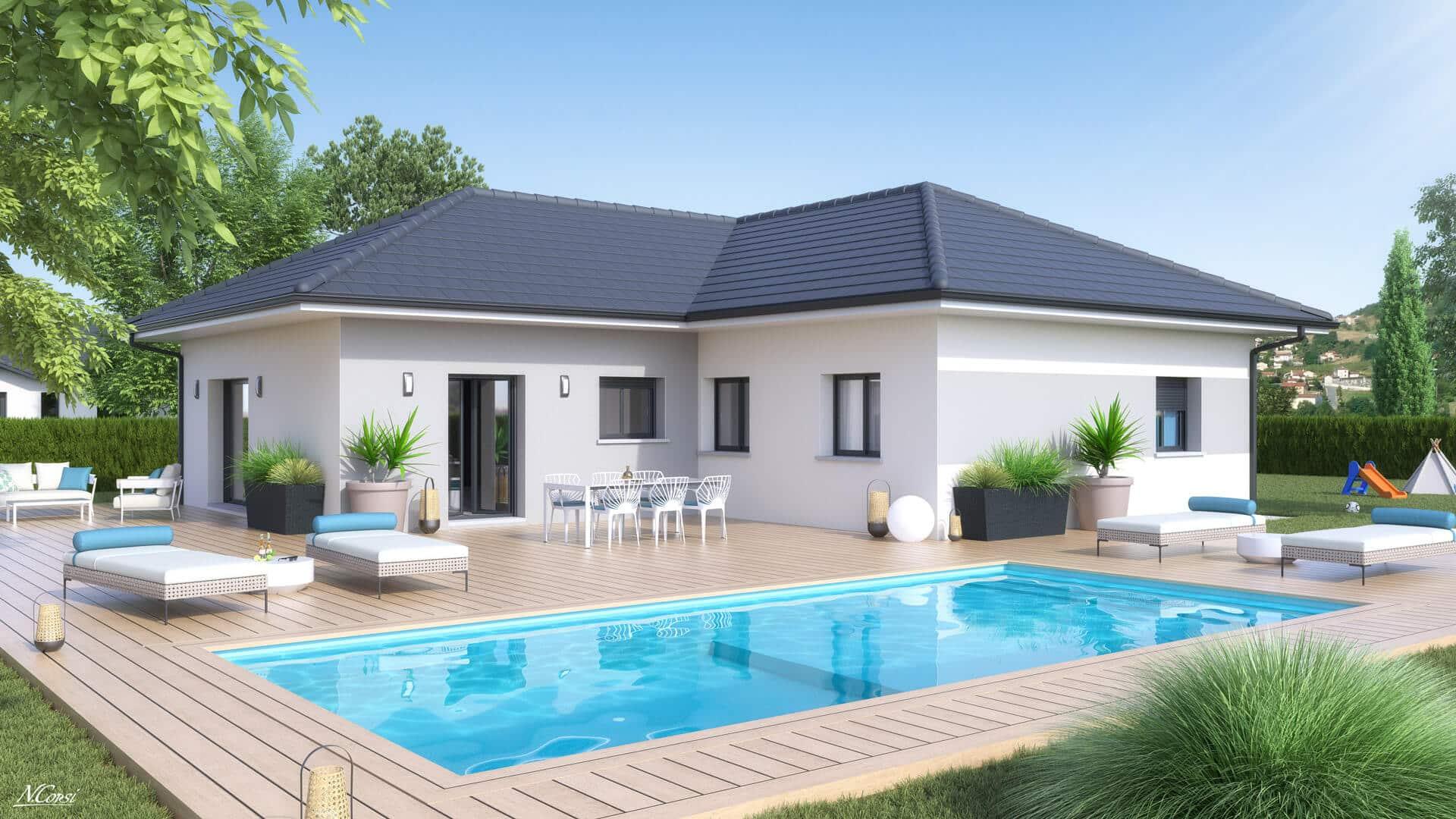 Plan Maison Gratuit De 80 A 110 M2 Maisons Clair Logis