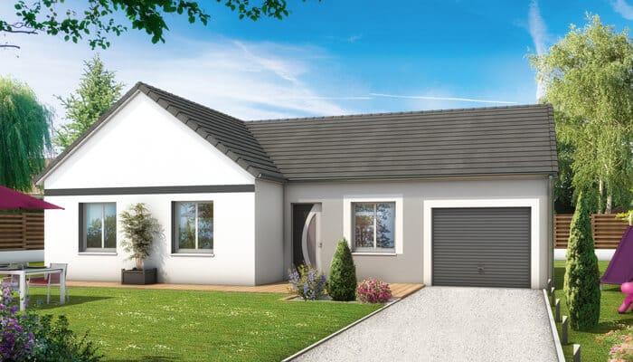 Plan maison en L - Maisons Clair Logis, constructeur maison