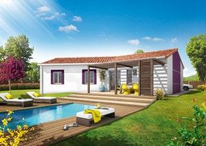 Maison en U Mayotte - Maisons Clair Logis
