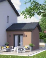 Maison individuelle Ecrin - Extension salon