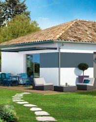 Maison individuelle Beaufort - terrasse