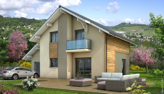 plan maison individuelle Belledonne
