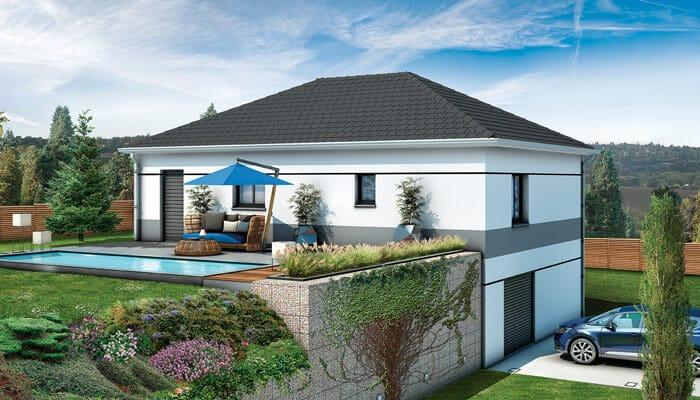 Plan Maison Individuelle Sur Sous Sol Complet Maison Gli Res