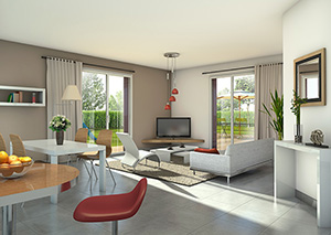 Devenez propri taire d 39 une maison clair logis for L interieur d une belle maison