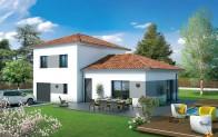 Maison individuelle Velin - plan maison 3D