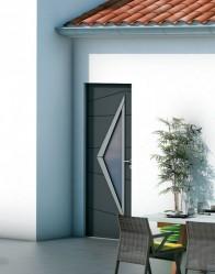 Maison individuelle Velin - porte design
