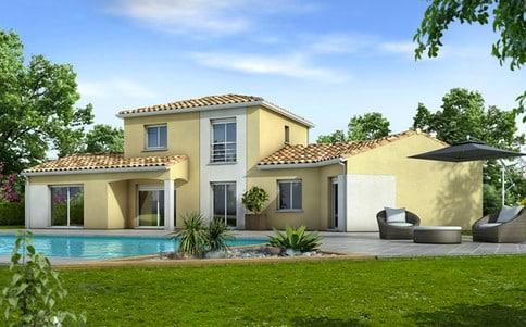 Plan de maison moderne Ancolie