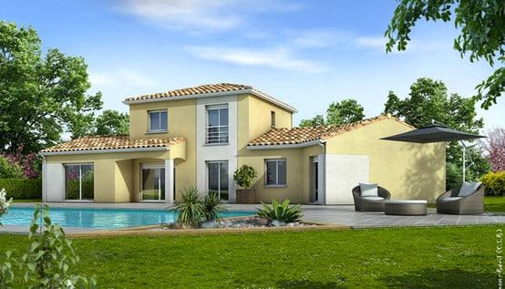 Maison moderne ancolie plan maison gratuit for Les plus belles maisons modernes