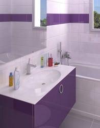 Maison moderne Cévennes - vue 3D salle de bain