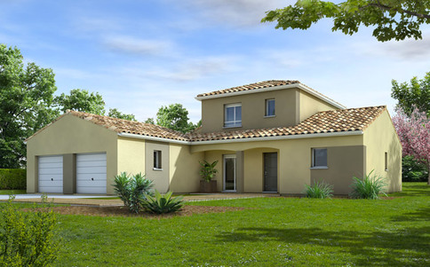 Plan de maison moderne Cytise