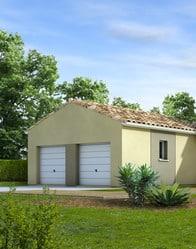 maison individuelle - double garage