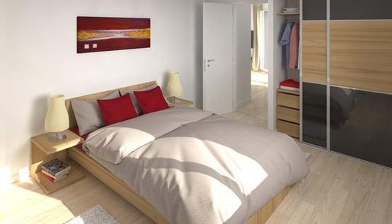 vue 3D - plan maison gratuit Cytise