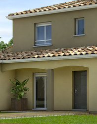 Plan de maison moderne Cytise - Maisons Clair Logis
