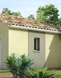 maison moderne - tuiles méditerranéennes