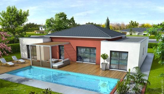 Plan de maison moderne mah plan maison gratuit for Les plus belles maisons modernes