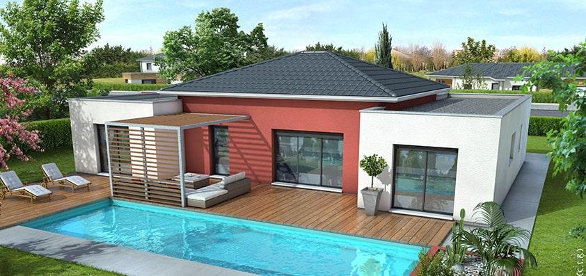 Maison moderne mah une maison alliant tradition et for Les belles maisons modernes