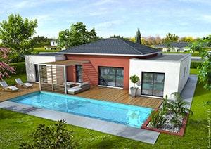 Maison moderne Mahé - Maisons Clair Logis