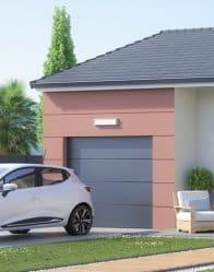Maison neuve avec garage intégré