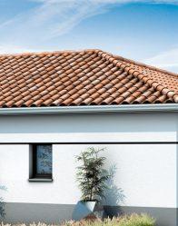 maison neuve avec tuiles canal
